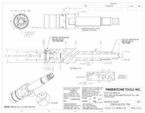 Centralizer Pin Design Diagram